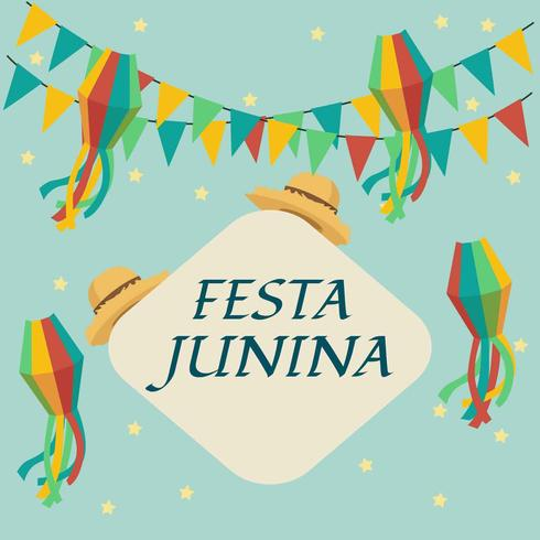 Festa Junina Illustration Vektor