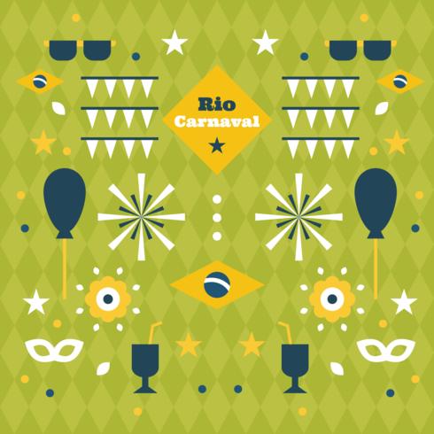 Rio Carnaval Vektor