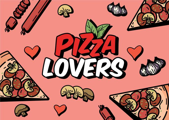 Pizza Lover vector