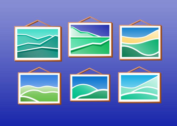 Rolling Hills Gemälde