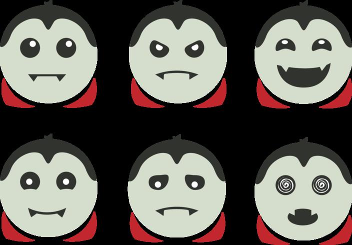 Gullig Dracula Vector