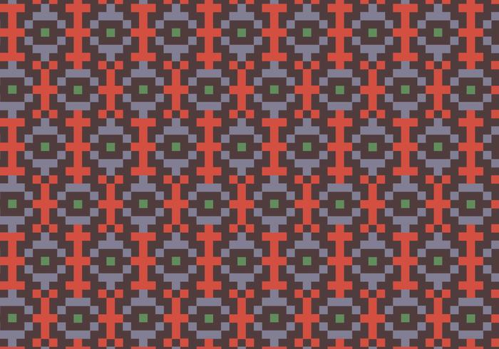 Native Square Pattern Background