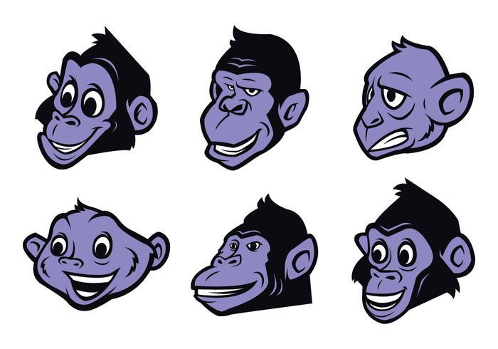 Gratis Monkey Logo Vector