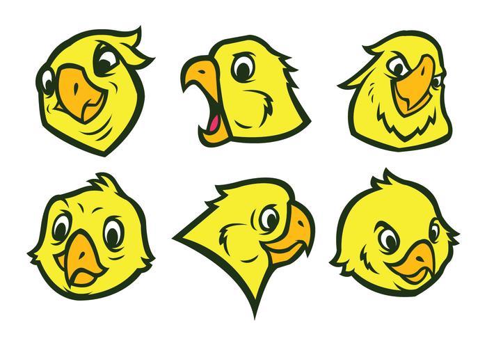 Gratis Parrot Logo Vector