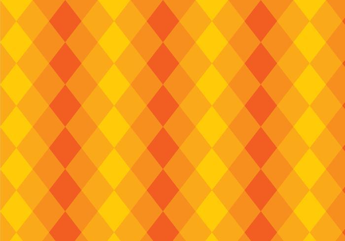 Driehoek gele en oranje laag achtergrond vector