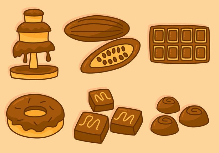 Delicious Chocolate Vectors