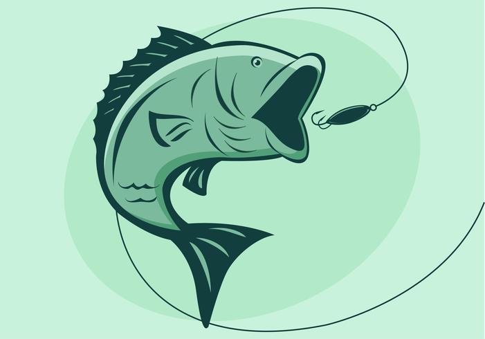 vettore di pesce basso