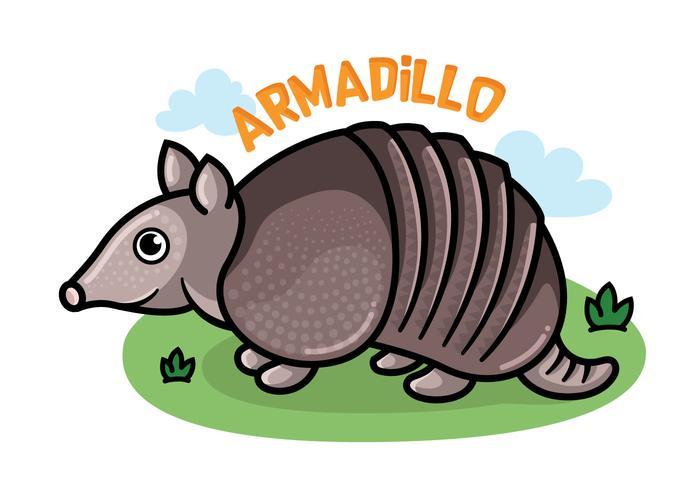 Dibujos animados de Armadillo