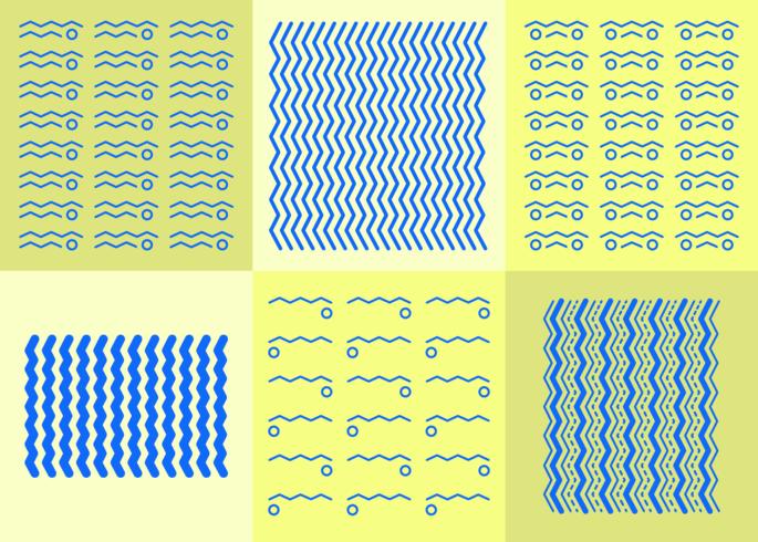 Fond de zigzag