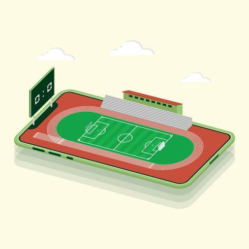 Football isométrique
