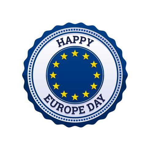 Destacados vectores del día de Europa