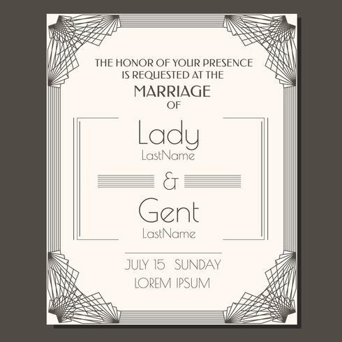 Wedding invitation vector download free vector art stock graphics wedding invitation vector stopboris Image collections