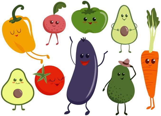 Vecteurs de caractères végétaux