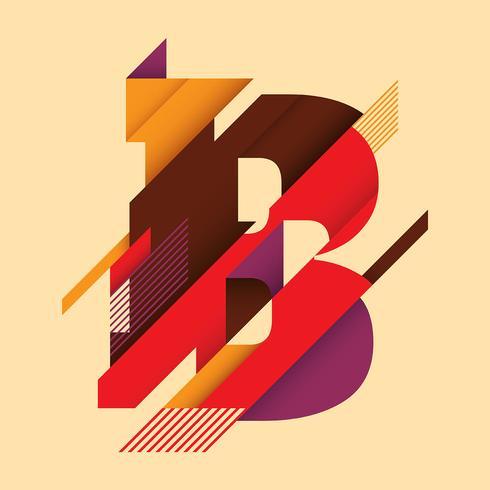 letra B tipografía