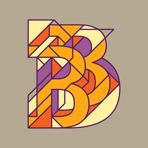 typ B typografi