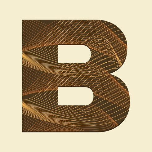 Lettre B Typographie