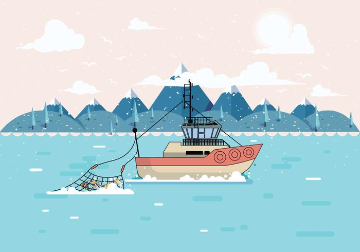 Vecteur de pêche en haute mer Vol 2