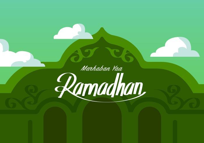 Ramadhan está perto de vetor