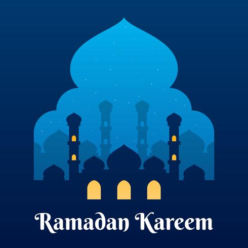 Fundo gráfico do Ramadã