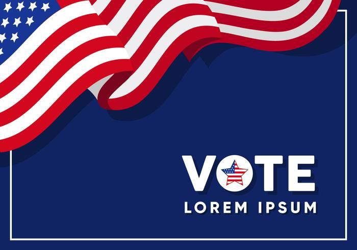 usa campaign sign template download free vector art stock