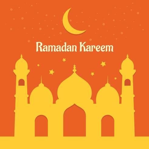 Fond de Ramadan Kareem