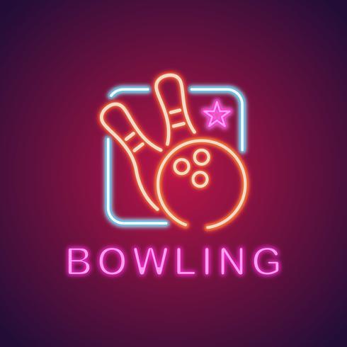 bowling logo klubb