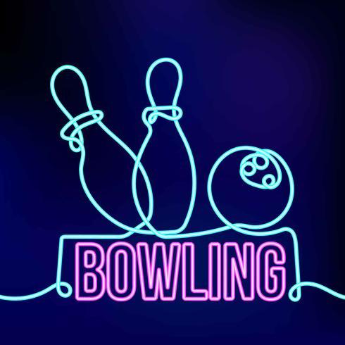 neon bowlen