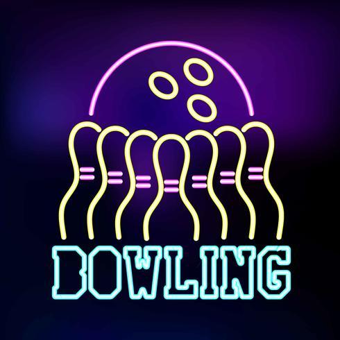 Néon Bowling