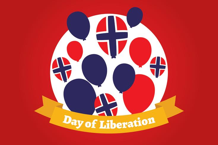 Norwegian Day of Liberation Background
