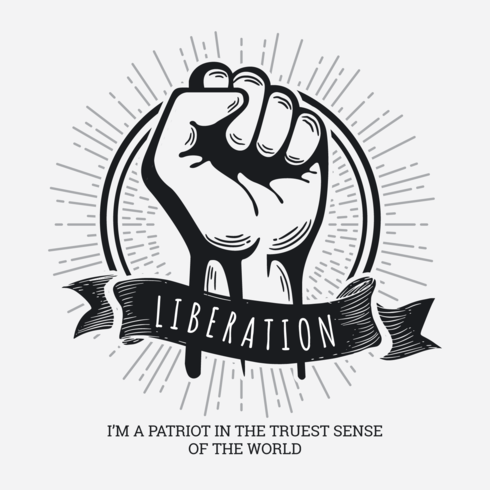 Ilustração do dia da libertação