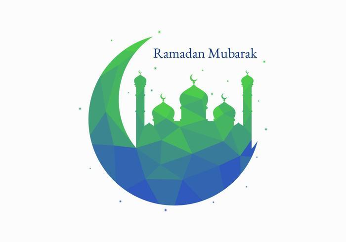 Beaux vecteurs de Ramadan