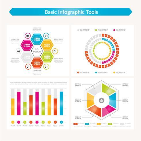 vektor infographic mall design