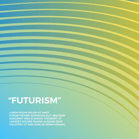 Futurism Vector Background
