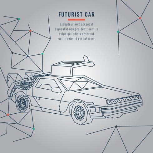 Futurist Car
