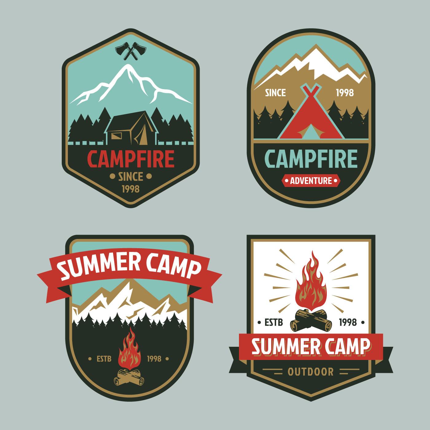 Campfire Free Vector Art