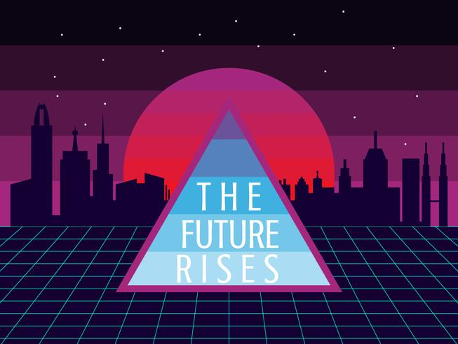 Excelentes vectores de futurismo