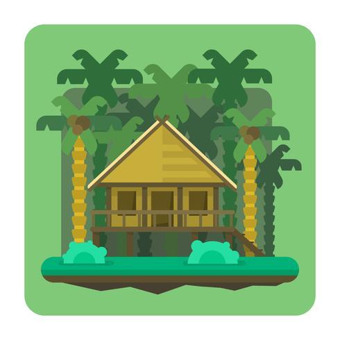 djungel bungalow