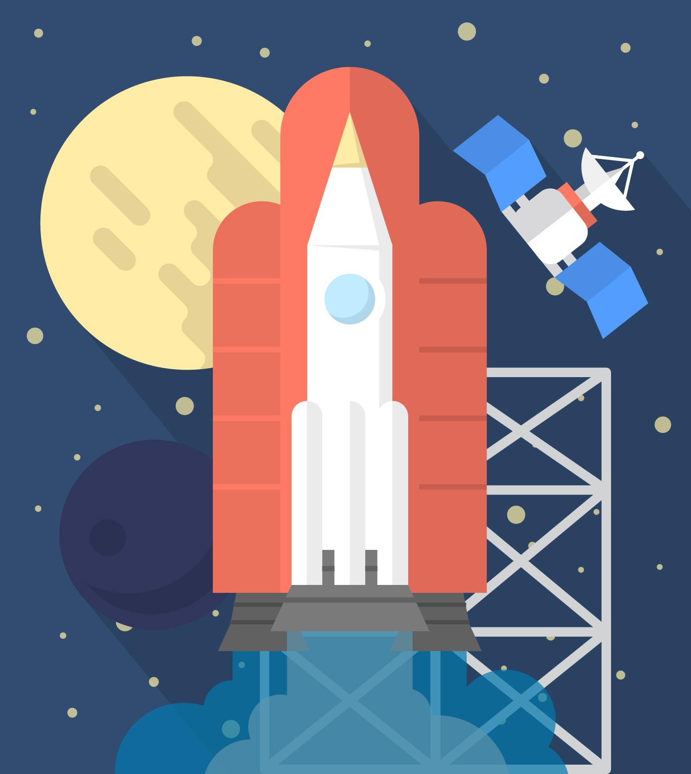 future rocket svg - HD1400×1568