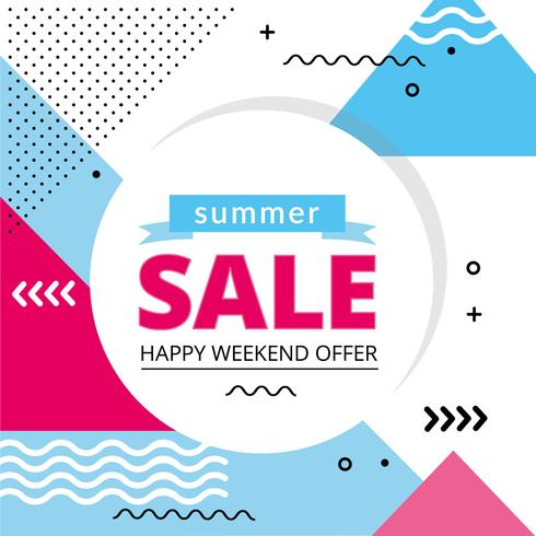 Vector Summer Sale Offer Design