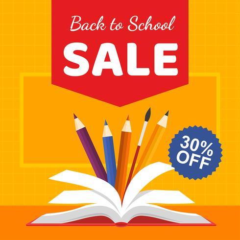 Libro de venta de regreso a la escuela
