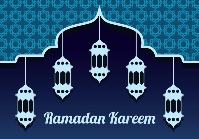 Ramadan Vector Bakgrund
