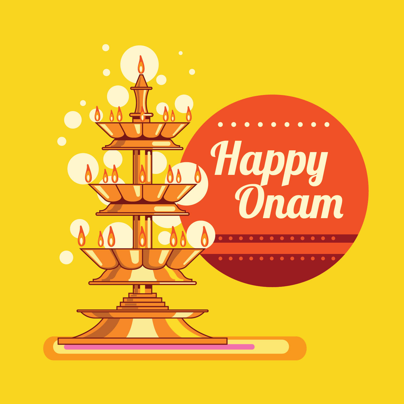 Onam greeting free vector art 8996 free downloads m4hsunfo