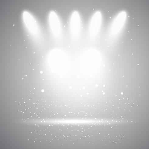 Arrière-plan d'affichage Spotlight