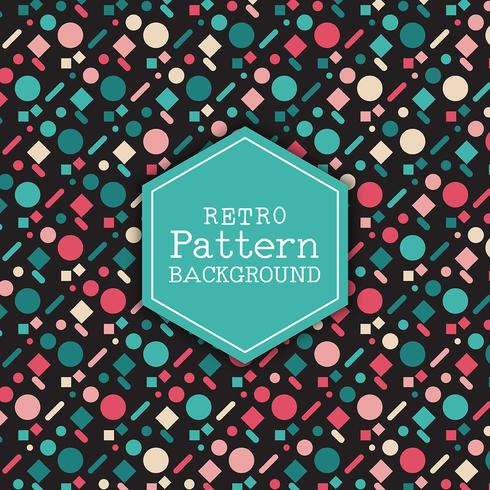 Retro pattern background 2609