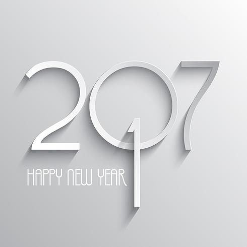 minimilistic Happy New Year background