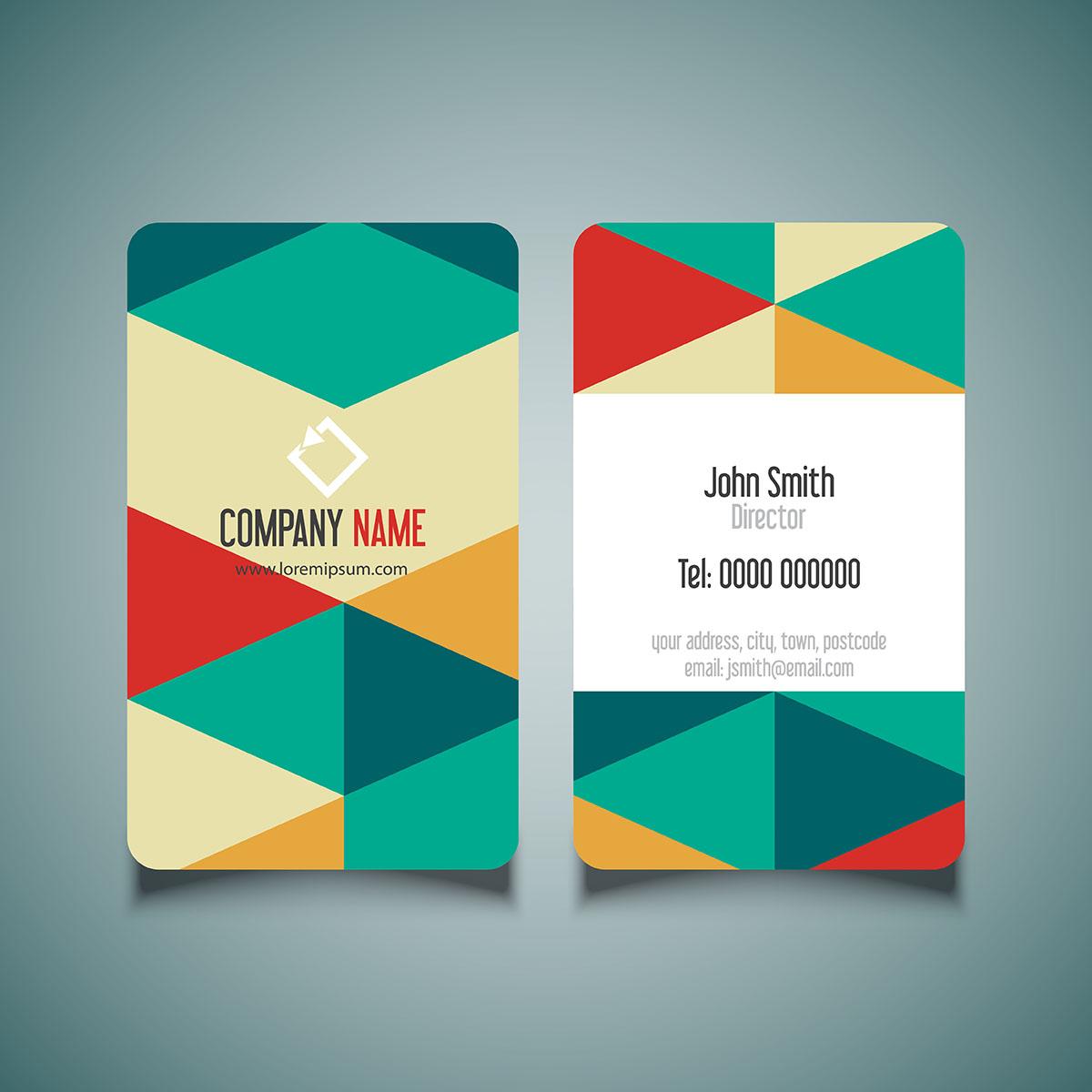 modern business card design  download free vectors