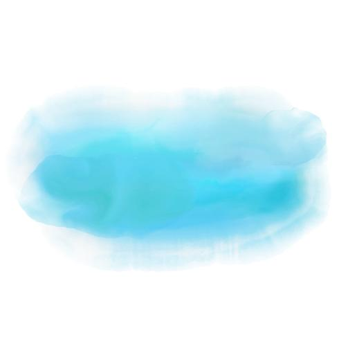 Blue watercolor wash background