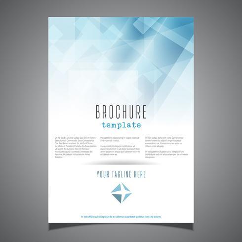 Conception de modèle de brochure