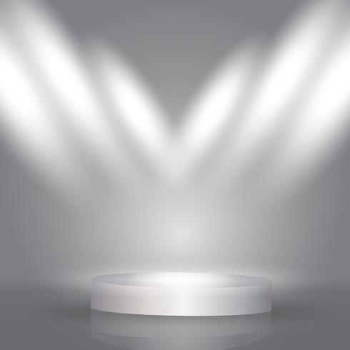 Spotlight display background