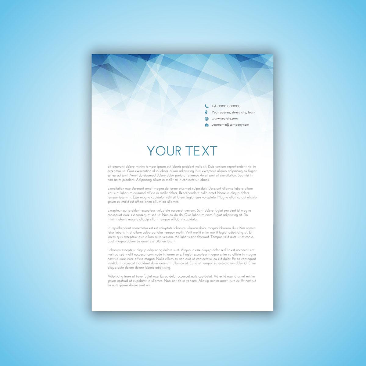 Letterhead Design Vector: Download Free Vectors, Clipart